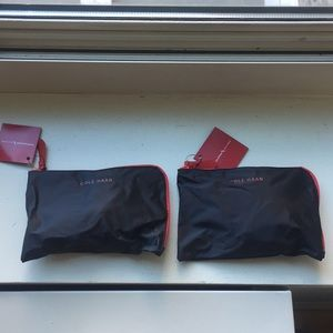 NEW - Cole Haan American Airlines toiletry bag